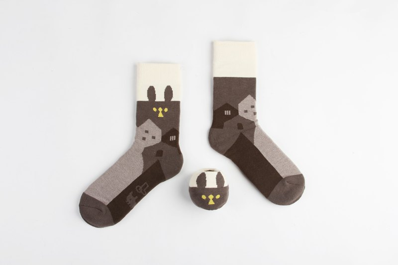Yellow Going Home - Ball Socks x little yellow studio