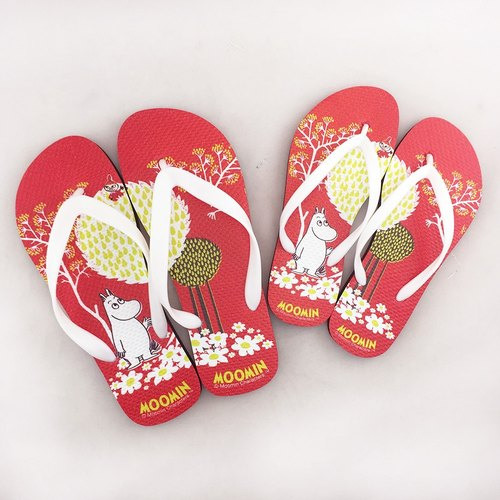 Moomin Lulu meters authorized - sandwiched slippers (female / male) 01