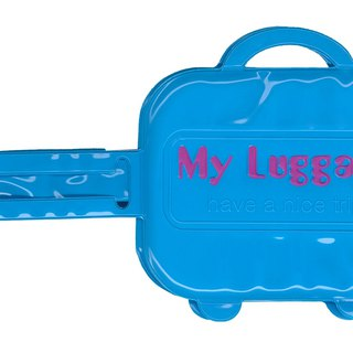 Alfalfa My luggage Luggage tag(Blue)
