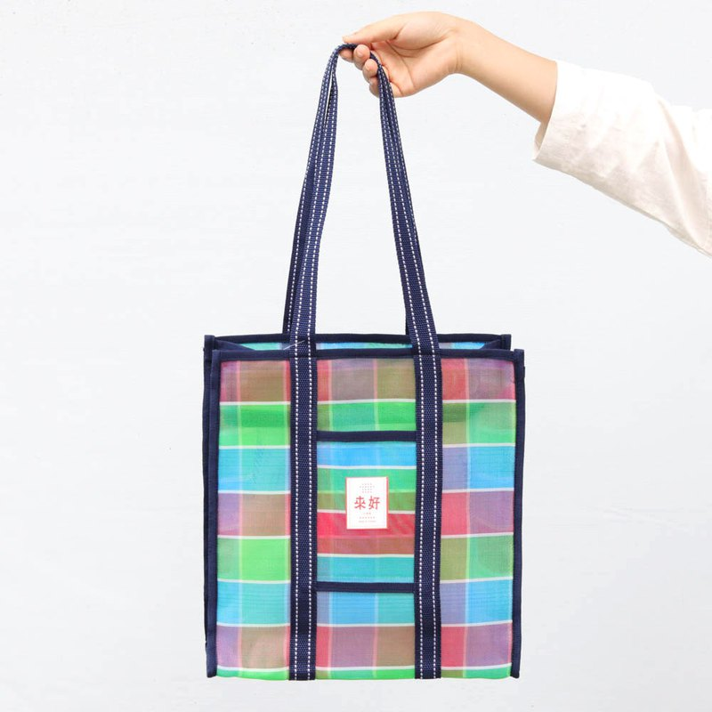 [Come on] 芷 芷 Auntie retro vertical A4 folder - zipper (red / green / blue)