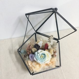 Large size flower house | eternal flower dry flower glass cover