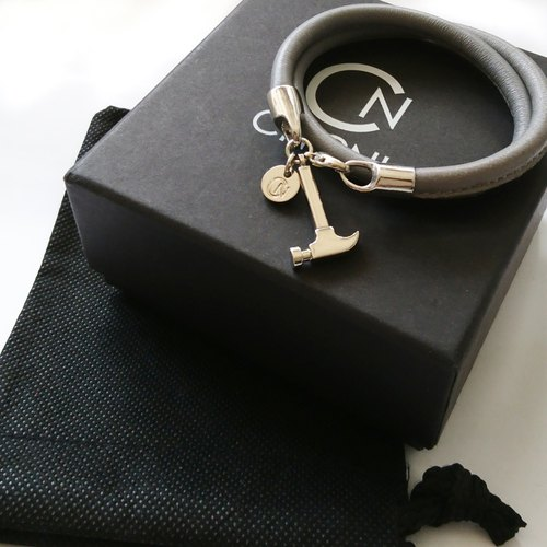 H5  (Silver Gray Bracelet and necklace)