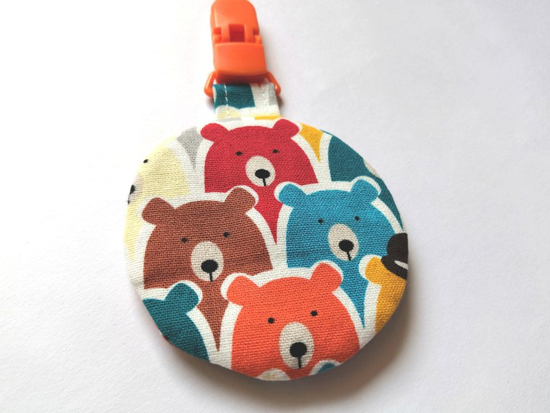 Colorful round panda bag