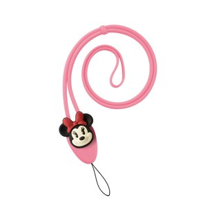 Bone / Charm Lanyard Plus Lace Strap - Minnie