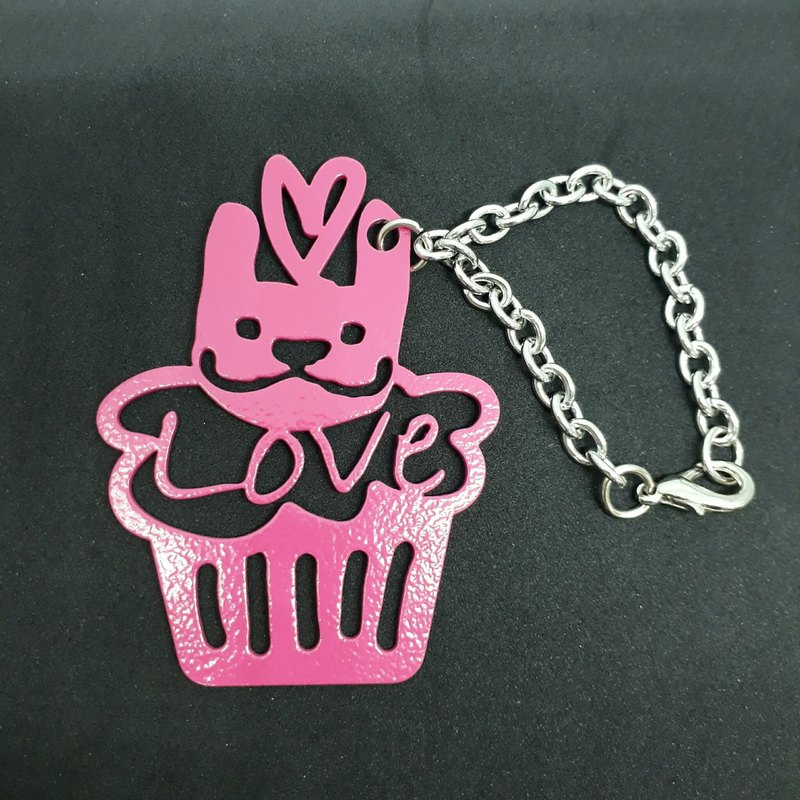 LAZYMARU-MA000628 MARU Cup Cake Strap (Pink) Fighting Accessories Taiwan Creative
