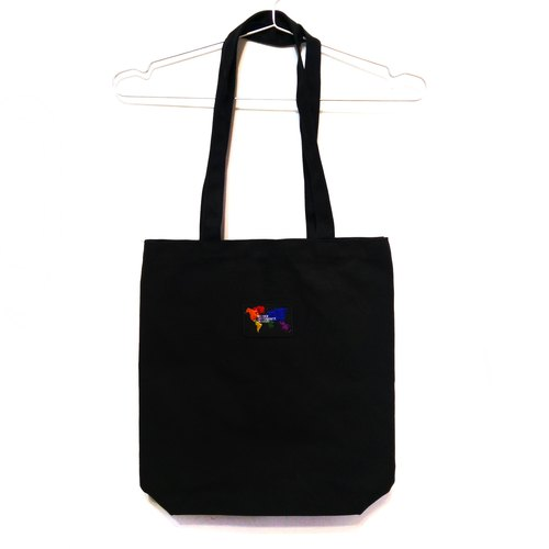 Rainbow World Map Eco Canvas Bag