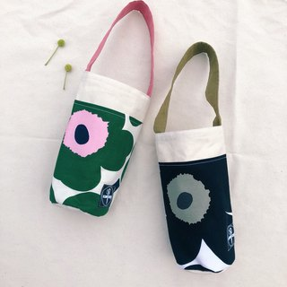 Kettle bag / big poppy flower