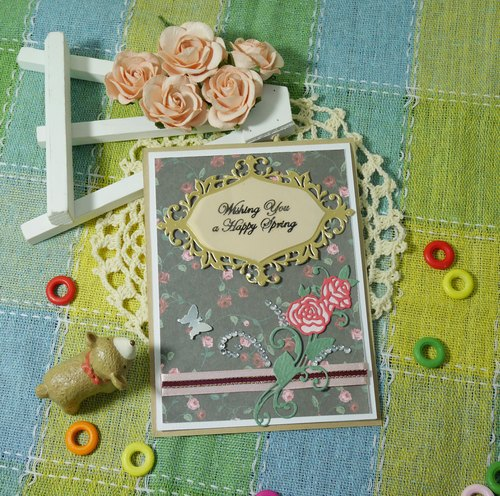 Handmade cards - gorgeous jump Universal card (Universal Card / birthday card / greeting card)