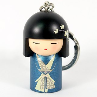 Keychain - Mebae is rich and prosperous [Kimmidoll and Blessed Doll key ring]