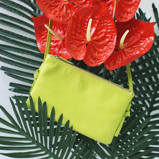 NORMCORE | Cross Body | Daily basic | LEMON GREEN