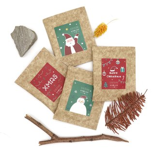 KerKerland-Natural Farming Oolong Tea Bag - Christmas Series