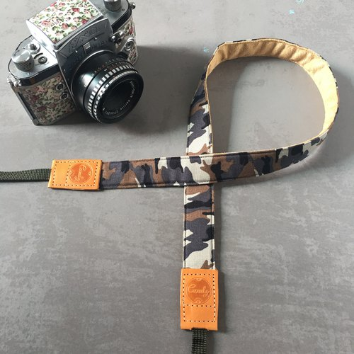 Camo Gray  Mirrorless camera Strap