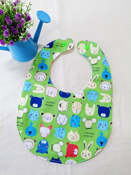 Animal collection bib pocket bibs waterproof bibs full Moon ceremony gift