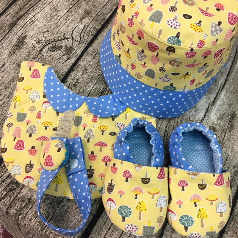Little Mushroom Happy Matsumo Group - Hat Bibs Papemonie Walking Shoes