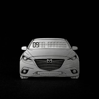[MAZDA3] exclusive hair temporary parking card number