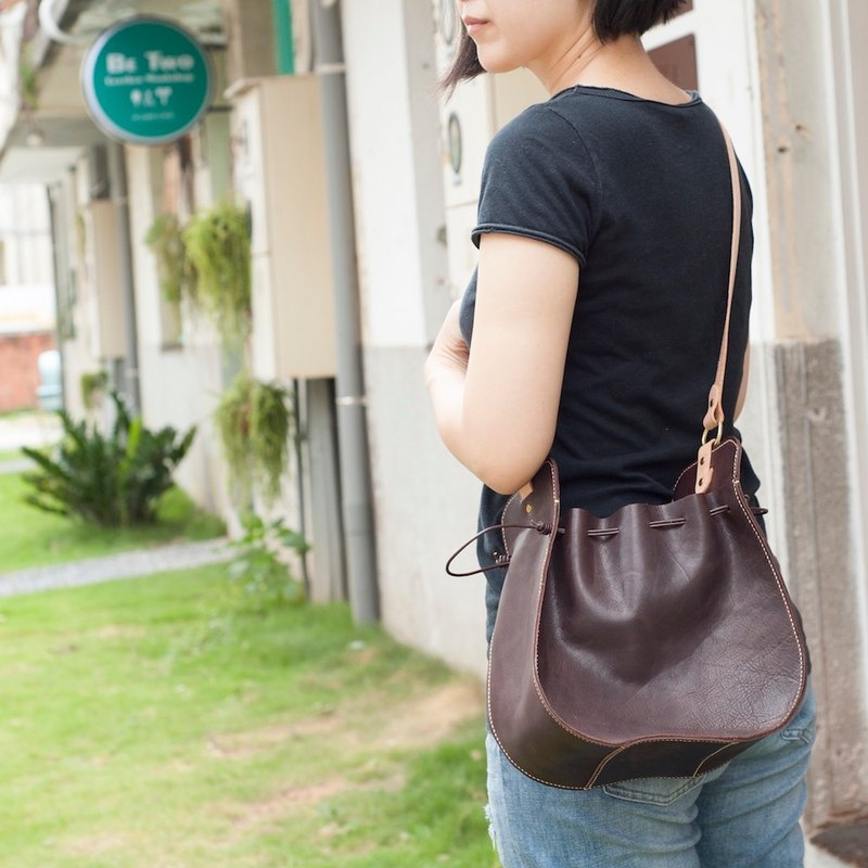 Be Two | Shoulder Bag / Crossbody Bag / Handbag / Side Backpack / Dual Use Bag (Cocoa)