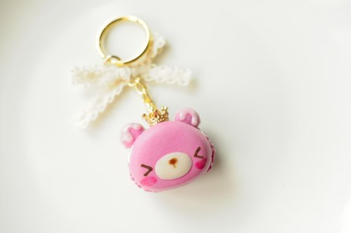 Sweet Dream ☆ Crown Peach Winnie Macaron / key ring section