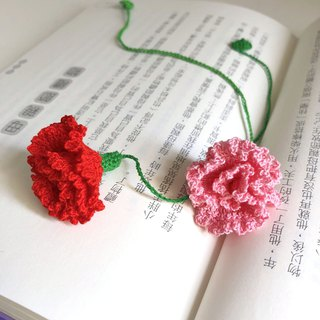 Crochet _ Bookmark _ Carnation