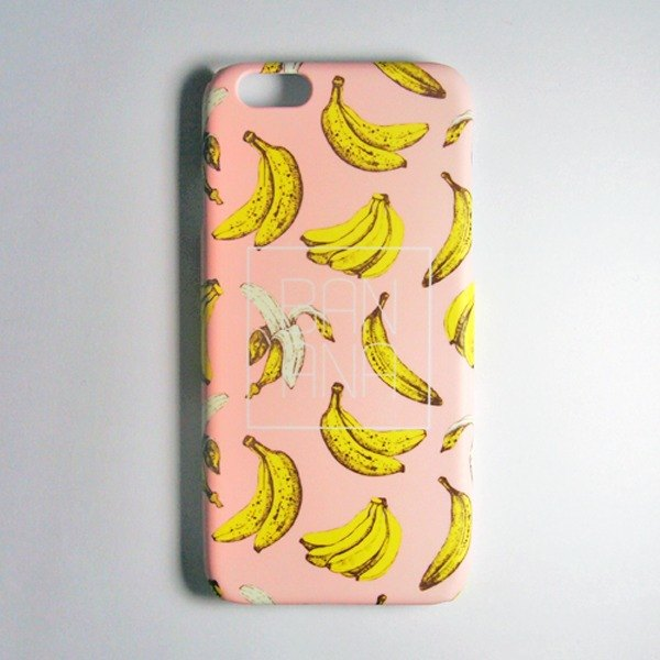 SO GEEK phone shell design brand THE BANANA GEEK bananas rose crystal