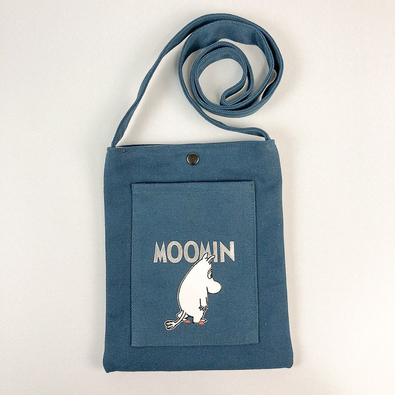 Moomin Moomin - Color Mobile Bag (Blue)