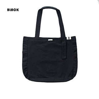 Plain white already has a simple canvas shoulder bag three colors
