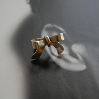 Rubbon ear cuff [SILVER 950]