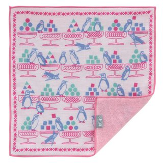 + ima WAFUKA Japan made Absorbent Soft, Cute & Unique Handkerchief - Penguin