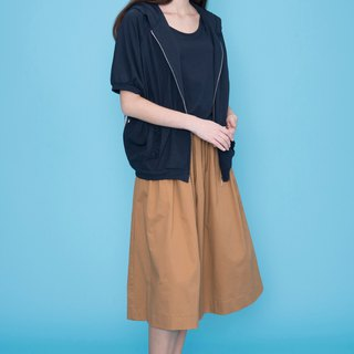 HANA long hat T jacket