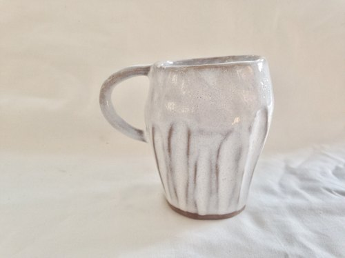 Super-touch white glaze cup - coffee cup cup