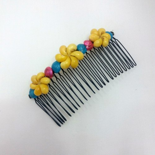 [HSOC seashell original] handmade ‧ shell decoration ‧ hair comb
