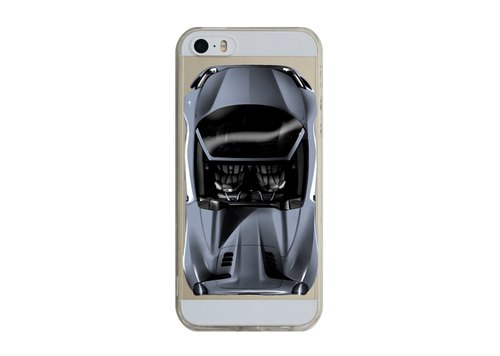 Grey sports car customized transparent Samsung S5 S6 S7 note4 note5 iPhone 5 5s 6 6s 6 plus 7 7 plus ASUS HTC m9 Sony LG g4 g5 v10 phone shell mobile phone sets phone shell phonecase