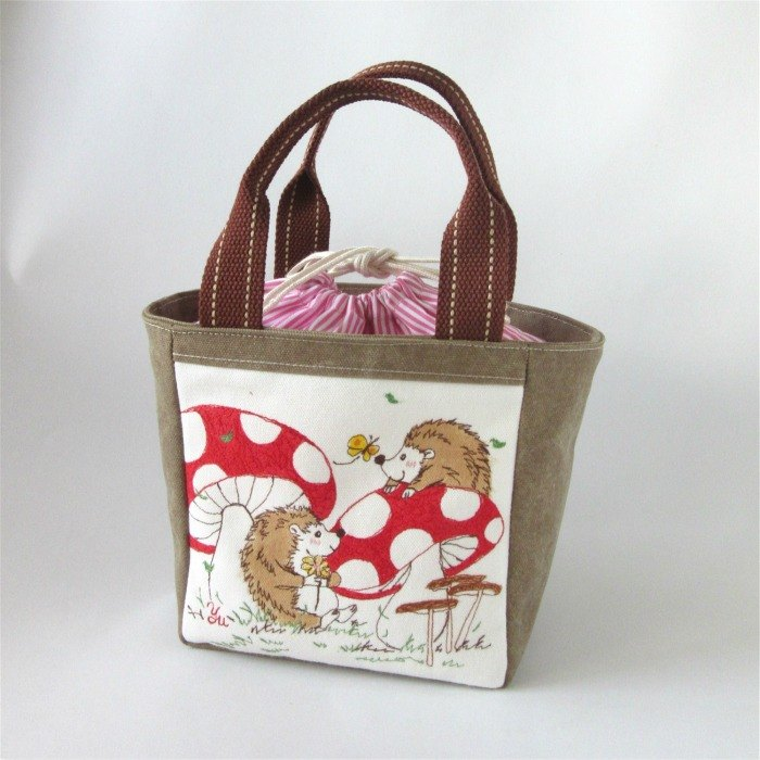 Bundle Handbag - hedgehog (custom)