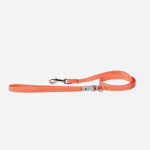 [Tail and me] Classic nylon belt leash pink XS