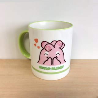 【Plump Planet Friends】Ceramic cup | Smiling Sakura Yulu