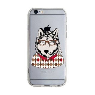 Glasses puppy - Samsung S5 S6 S7 note4 note5 iPhone 5 5s 6 6s 6 plus 7 7 plus ASUS HTC m9 Sony LG G4 G5 v10 phone shell mobile phone sets phone shell phone case