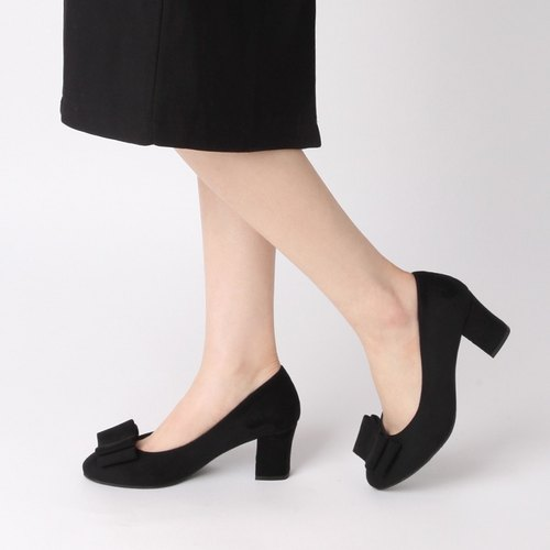 PRE-ORDER – SPUR TENDER BOW PUMPS JF9048 BLACK