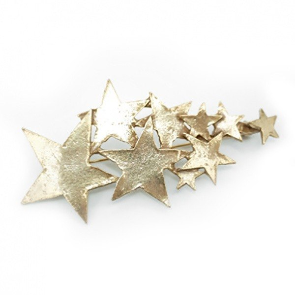 Meteor Brooch (Gold) Meteo Brooch (Gold) / Pin Brooch PB 038