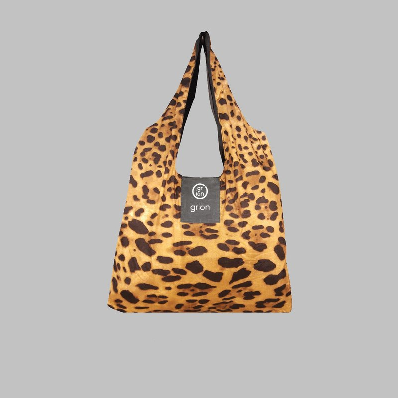 grion waterproof bag - Shoulder dorsal section (M) Limited models - Deep Leopard