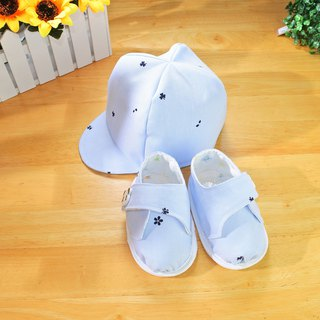Baseball Cap Mi Yue Gift Baby Hat + Baby Shoes
