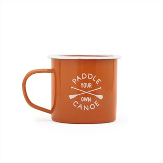 Self-sufficiency - American Izola 珐琅 mug 330 ML