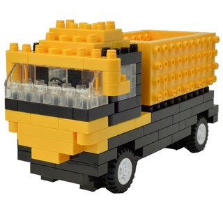 """JEKCA plot card Variety building blocks"" dump truck"