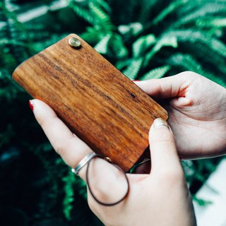 【TREETHER】Teak Credit Card Holder