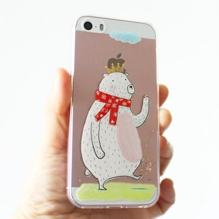 Bear King phone case _ iPhone, Samsung, HTC, LG, Sony