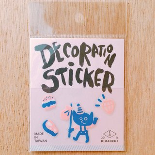 Dimeng Qi small decorative stickers [elf - breaking babble]