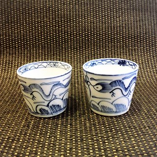 Meiji cup one pair of Antiquities