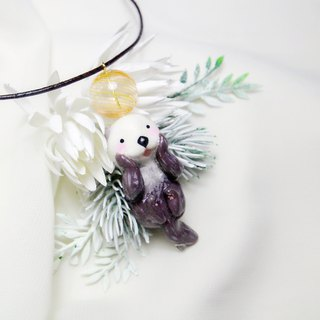 The last one Sea otter Necklace
