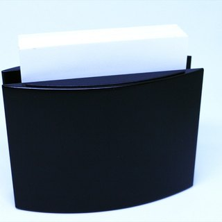 [Special offer] early ancient pieces - Germany Lerche simple black note paper seat