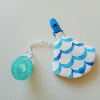 Blue wave nipple dust jacket clip nipple clip + pacifier sleeve vanilla nipple available pacifier bag