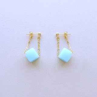 Chicken Maru lab micro-sweet early summer soda sugar sway earrings / ear clip (ED004)