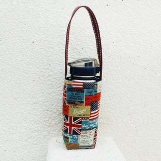 Flag cowboy kettle bag / beverage bag